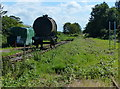 TF4304 : Disused Bramley Line at the Waldersea Depot by Mat Fascione