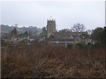 SP0228 : St Peter's church, Winchcombe by Philip Halling