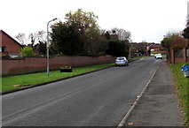 SO9568 : West along Austin Road, Bromsgrove by Jaggery