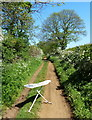 SK8432 : Ironing board along The Drift by Mat Fascione