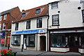 SK7954 : Shops on Kirkgate by Roger Templeman