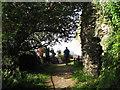 SS6949 : Jenny's Cove viewpoint 1 - Lee Abbey, North Devon by Martin Richard Phelan