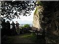 SS6949 : Jenny's Cove viewpoint 2 - Lee Abbey, North Devon by Martin Richard Phelan