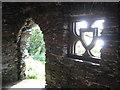SS6949 : Jenny's Cove grotto 6 - Lee Abbey, North Devon by Martin Richard Phelan