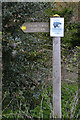 SP3576 : Fingerpost with protest notice, Whitley Grove, southeast Coventry by Robin Stott