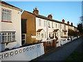 TQ0976 : Harlington - Houses on the Bath Road by James Emmans