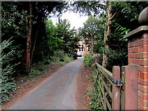 SJ6652 : Entrance to the Elim Church Centre, Nantwich by Jaggery