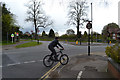 SP3576 : Junction of Abbey Road and London Road, Whitley, southeast Coventry by Robin Stott