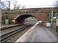 SJ3985 : Knowsley Road bridge at Cressington station by John S Turner