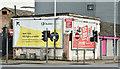 J3375 : Dublin Airport New York poster, Belfast (January 2017) by Albert Bridge