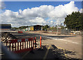 SP3165 : Travis Perkins site in course of demolition by Old Warwick Road, Royal Leamington Spa by Robin Stott