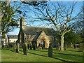 NU1300 : Church of St Mary, Longframlington by Alan Murray-Rust