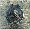 NU1301 : CTC shield, The Village Inn, Longframlington by Alan Murray-Rust
