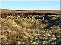 NY7932 : Shake Hole near Dubby Sike by Oliver Dixon