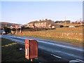 SE0235 : Houses at Moor Side by Des Blenkinsopp