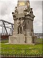 SJ3390 : Titanic Memorial (detail) by David Dixon