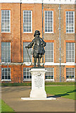 TQ2579 : King William III by Anthony O'Neil