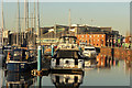 TA0928 : Hull Marina by Richard Croft