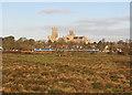 TL5479 : A Norwich train leaving Ely by John Sutton