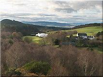NH6750 : Pitlundie from Taindore Wood by Julian Paren