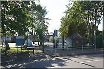 SK8251 : Entrance to The Chuter Ede School from Wolfit Avenue by Roger Templeman