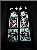 TL7006 : Chelmsford Cathedral: stained glass window (c) by Basher Eyre
