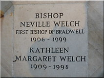 TL7006 : Chelmsford Cathedral: memorial (6) by Basher Eyre