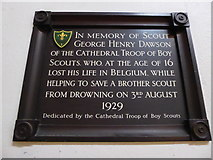 TL7006 : Chelmsford Cathedral: memorial (4) by Basher Eyre