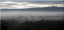 NZ1265 : Winter morning view over the Tyne valley by Andrew Curtis