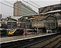 SP0686 : Birmingham New Street Railway Station by Roger Cornfoot