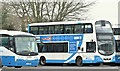 J2890 : Buses, Ballyclare (January 2017) by Albert Bridge