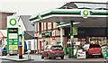 J2991 : Post office and petrol station, Ballyclare (January 2017) by Albert Bridge