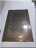 TQ2255 : St Peter, Walton-on-the Hill: memorial (0) by Basher Eyre