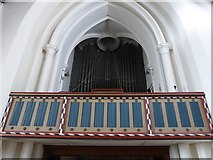 TQ2255 : Inside St Peter, Walton-on-the Hill (A) by Basher Eyre