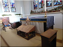 TQ2255 : Inside St Peter, Walton-on-the Hill (E) by Basher Eyre