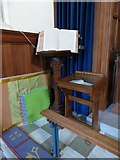 TQ2255 : Inside St Peter, Walton-on-the Hill (H) by Basher Eyre