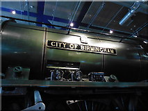 SP0787 : City of Birmingham, on display at Thinktank Museum by Roger Cornfoot