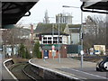 ST5716 : Yeovil Pen Mill Station and signal box by Chris Allen