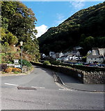 SS7249 : Tors Road, Lynmouth by Jaggery
