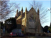 SO1091 : St David's Church, Newtown by John Lucas