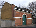 TQ3385 : Electricity sub-station, Stoke Newington by Julian Osley