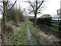 SE4306 : Public footpath on the northern edge of Great Houghton by Christine Johnstone