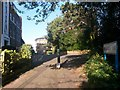 SZ0891 : Bournemouth: Dalkeith Lane reaches Richmond Gardens by Chris Downer