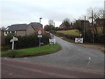 TQ2912 : School Lane, Pyecombe by Malc McDonald
