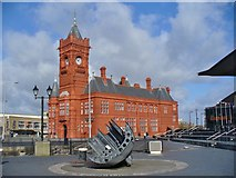 ST1974 : Cardiff Bay - Pierhead Building by Colin Smith