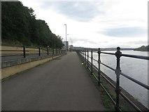 NZ2462 : Riverside path, Gateshead by Graham Robson