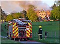 TQ0351 : Clandon Park - Fire Engine by Colin Smith