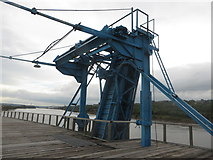 NZ2362 : Loading conveyor on Dunston Staiths by Graham Robson