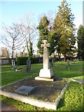 TQ3355 : Caterham Cemetery: early January 2017 (b) by Basher Eyre