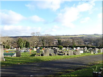 TQ3355 : Caterham Cemetery: early January 2017 (i) by Basher Eyre